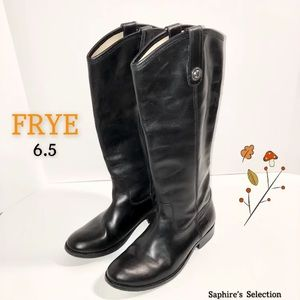🍁🧡FRYE Mellissa Knee-High Leather Boots 6.5🍁🧡